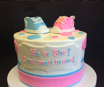 JWoww's gender reveal cake