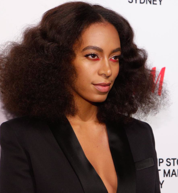Solange Knowles Instagram headshot