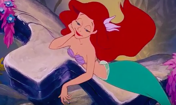 ariel in under the sea