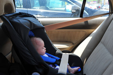 baby in hot car