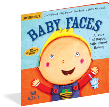 Baby Faces: A Book of Happy, Silly, and Funny Babies book cover