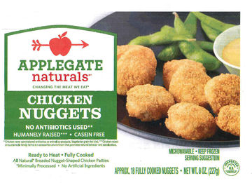 Applegate frozen chicken nuggets
