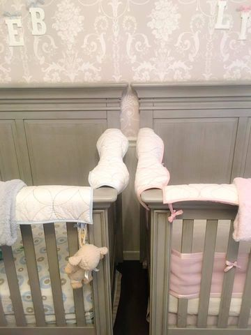 crib set up