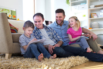 gay dads with kids