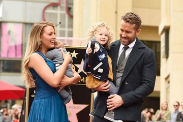 blake lively and ryan reynolds and daughters