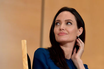 Angelina Jolie Speaks At Annual lecture of the Sergio Vieira De Mello Foundation