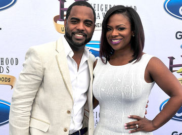 Kandi Burruss and Todd Tucker 2014