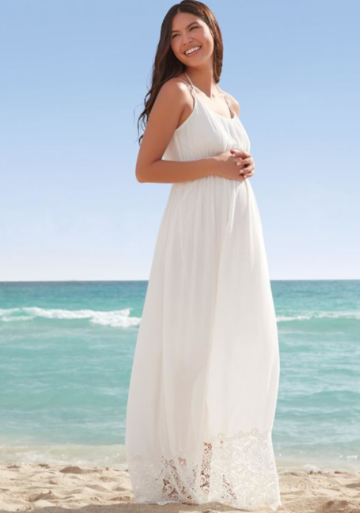 9 Gorgeous Maternity Wedding Gowns | Parents