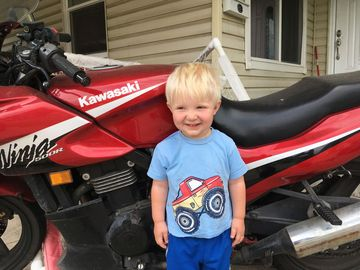 nicholas is now into motorcycles as well as cars