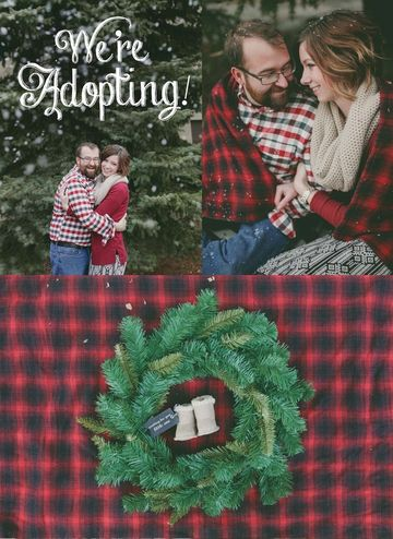 holiday adoption announcement