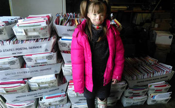Safyre with mail