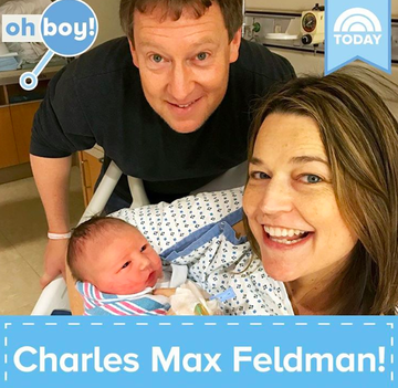 savannah guthrie with baby charles