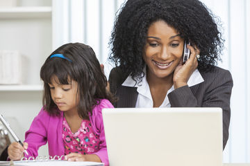 working mom trying to find babysitter