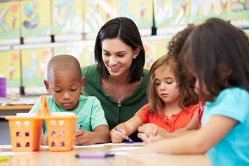 Preschool teachers earn shockingly low wages.