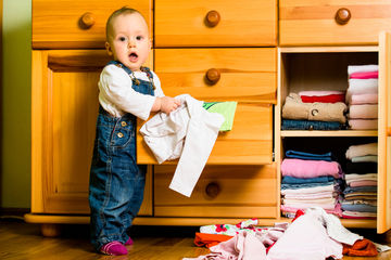 parenting fails are wins baby with clothes