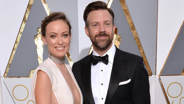 olivia wilde and jason sudeikis 2016 oscars