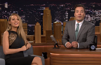 Blake Lively and Jimmy Fallon