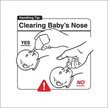 Safe Baby Handling Tips - Clearing Baby's Nose