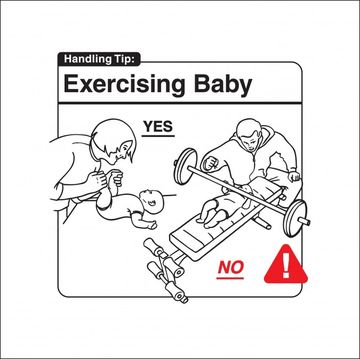 Safe Baby Handling Tips - Exercising