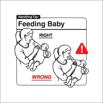 Safe Baby Handling Tips - Feeding