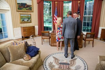 See Kids Being Kids -- in the White House 25451