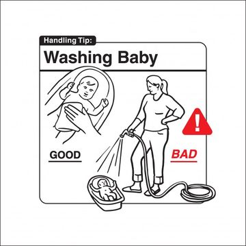 Safe Baby Handling Tips - Washing