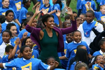 First Lady Aims to Set New World Record for Jumping Jacks 29310