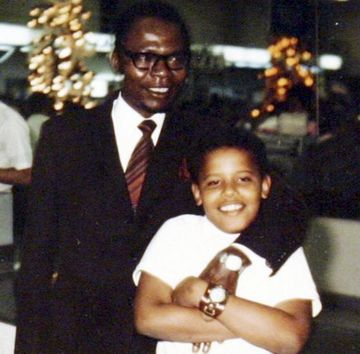 Obama and His Father