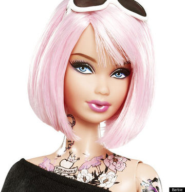 Tattooed Barbie Doll Sparks Debate 29324