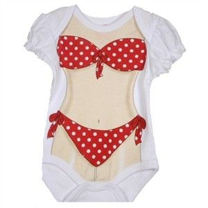 Baby Bikini Onesie Enrages Parents 29747