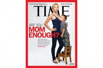 Provocative Time Magazine Cover Examines 'Attachment Parenting' 29653
