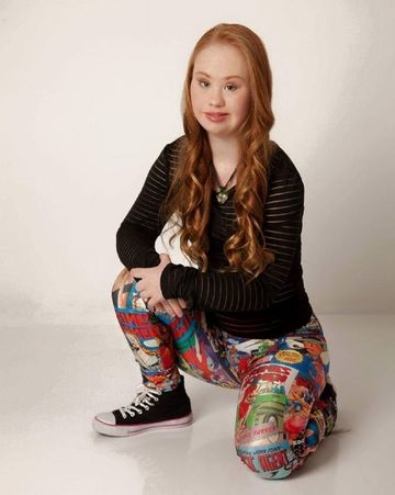 An aspiring model with Down syndrome