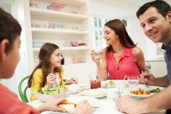 Positive Family Meal Reduces Childhood Obesity