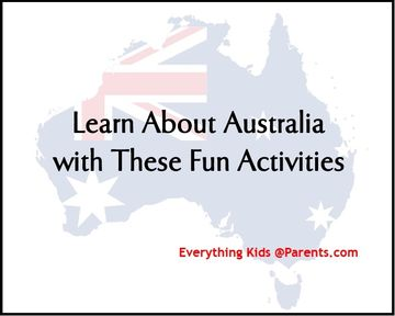Australia Activities for Kids