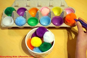 Color Matching Eggs