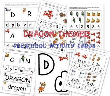 Dragon-Themed Preschool Activities