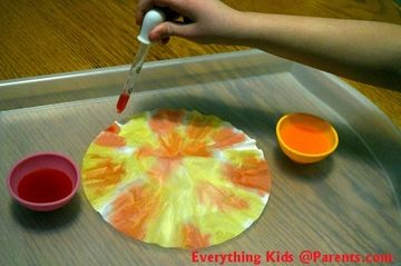 Fine Motor Skills - Eye Dropper Activity