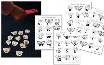 Fishing for Sight Words Letters Numbers