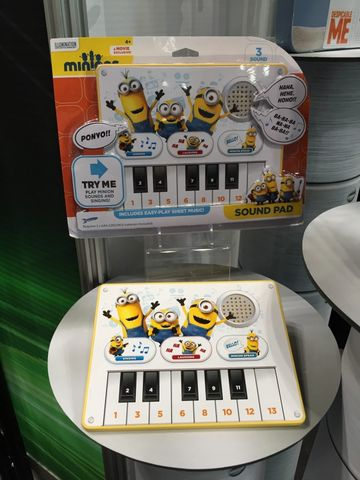 Minions Singing Sound Pad