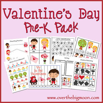 FREE Valentine\'s Day Preschool Packets and Printables | Parents