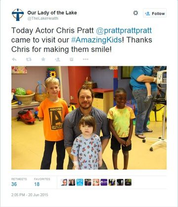 chris pratt twitter
