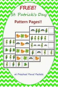 free-st-patricks-day-pattern-pages-label-preschoolpowolpackets