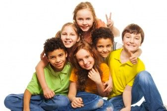 group of 4th graders