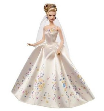 Wedding Day Cinderella doll