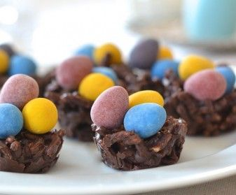 Candy Egg Nests