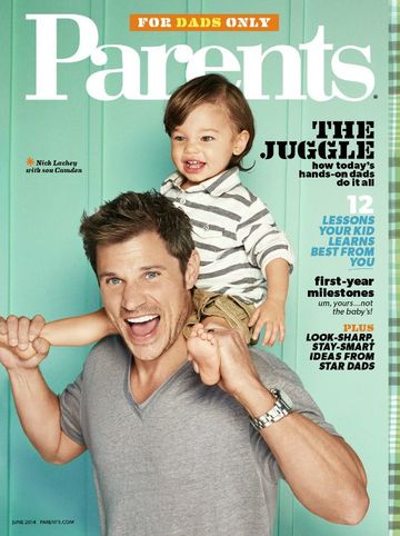 Parents magazine June 2014 Nick Lachey dads cover