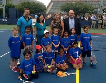 USTA youth tennis event