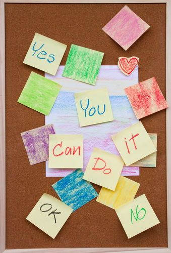You Can Do It Yes No Ok Board