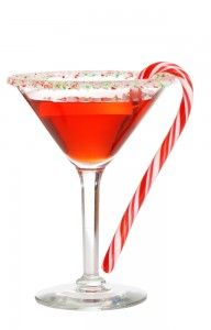 Candy cane mocktail