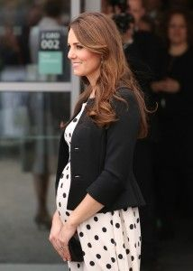 Kate Middleton pregnant royal bump due date